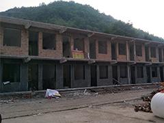 陕西延安枣园镇办公楼电地暖改造工程