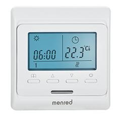 曼瑞德E51液晶可编程电采暖温控器