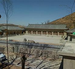 陕西榆林自建四合院电地暖工程