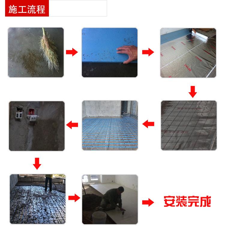 發熱電纜施工流程