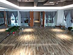 西安曲江龙湖瑜伽馆电热膜电地暖安装