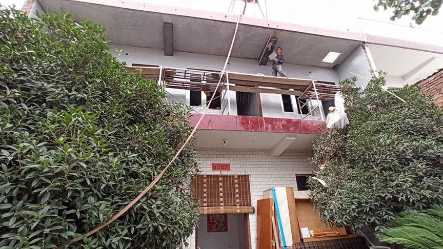 陕西长安自建房电地暖安装工程