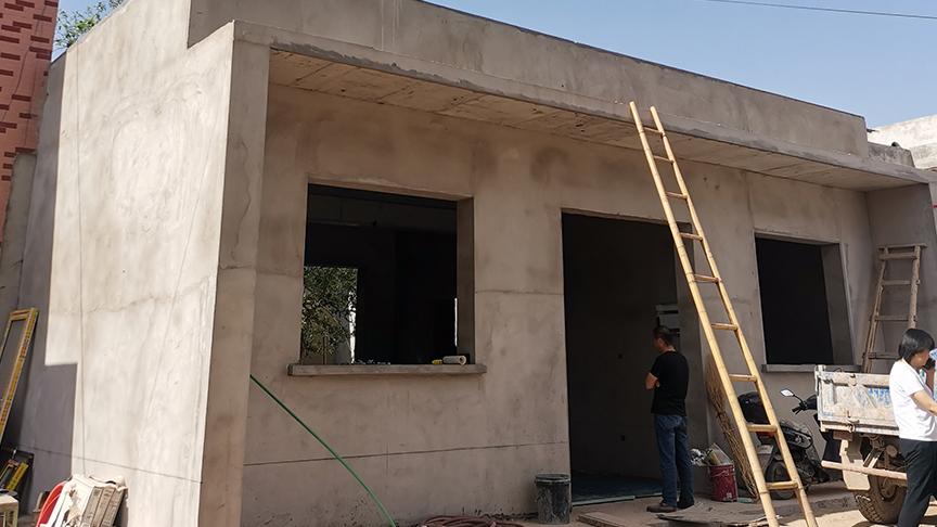 陕西渭南富平自建房电地暖安装